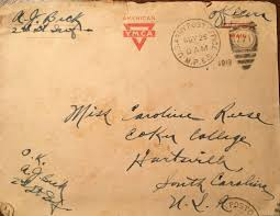 Letter World Narrative Love Letters From A Soldier In World War One South