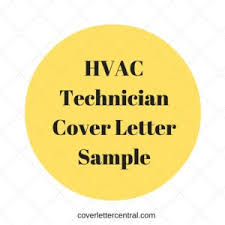 hvac technician cover letter sample content tips examples sample hvac cover letter