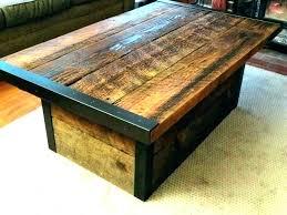 dark wood trunk coffee table large chest mango