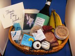 have you thought of creating personalized wedding guest gift baskets