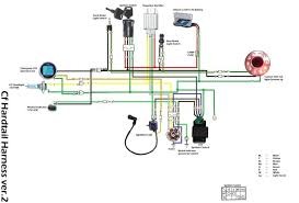 simple wiring diagram for motorcycles wiring diagram simple bobber wiring diagram and hernes