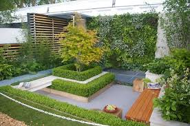 Image of: Simple Garden Landscape Design Idea