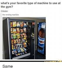 Affordable Care Act Vending Machines Extraordinary What's Your Favorite Type Of Machine To Use At The Gym The Vending