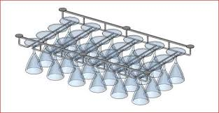 wine glass rack