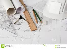 drawing tools. Architectural Blueprints And Drawing Tools U