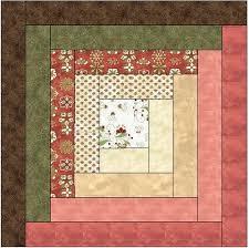 Traditional Log Cabin Quilt Block Pattern Download | Quilt ... & Traditional Log Cabin Quilt Block Pattern Download Adamdwight.com