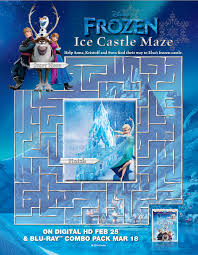 Small Picture Frozen Coloring Pages and Activity Sheets