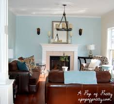 Teal Color Living Room Benjamin Moore Woodlawn Blue The Evolution Of Our Living Room