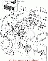 A c pressor bracket sanden schematic