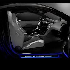 Peugeot Customizer LED <b>Door</b> Sill <b>Entry Guards</b> Light   <b>Car</b> ...