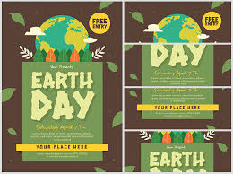 Earth Day 2 Flyerheroes