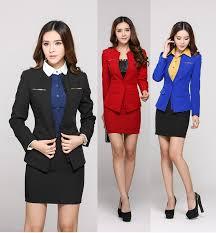 professional clothing 2019 new plus size 4xl 2015 autumn winter uniform design