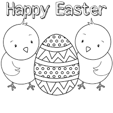 Free Printable Easter Coloring Book Pages The Color Panda