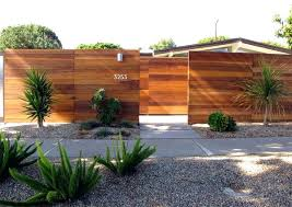 metal fence ideas. Simple Ideas Modern Fence Ideas Horizontal Panels Garden Design  Metal Intended