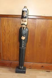 lot 235 vintage wooden doorstop policeman