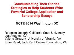 communicating their stories strategies to help students write powerf