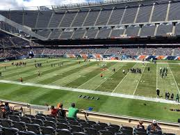 Chicago Bears Seating Chart Virtual Chicago Bears Soldier Field Seating Chart Interactive Map
