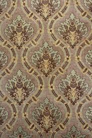 Bruin En Goud Damast Behang Vintage Wallpapers