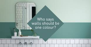 how to paint two tone walls i