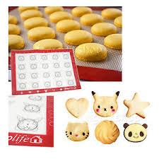 Macaron Guide Sheet Details About 6shape Guide Silicone Fibreglass Rolling Dough Tray Pad Macaron Baking Mat Sheet