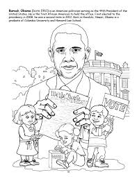 Small Picture Beautiful Barack Obama Coloring Book Images Coloring Page Design