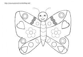 Coloriage Papillon Les Beaux Dessins De Animaux Imprimer Et Dessin Enfant Colorier L