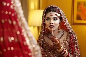 bridal makeup colours