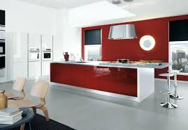 modern office color schemes. Contemporary Color Scheme Home Kitchen Interior Idea With White And Red Attractive Modern . Office Schemes