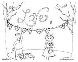 You have the choice ! Christian Valentines Day Coloring Pages About Love 100 Free