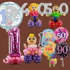 birthday character sculptures birthday numbers age balloons