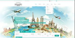 Travel Templates Travel Agency Bootstrap Template By Mecovache Themeforest