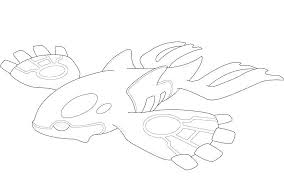 Kyogre Coloring Pages Pokemon Primal Kyogre Type Running Downcom