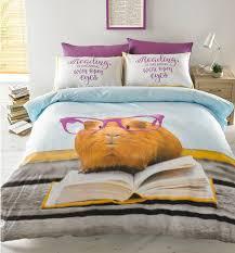 geraldine the guinea pig duvet cover bed set