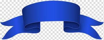 Blue Ribbon Design Design Red Ribbon Blue Banner Transparent Background Png