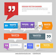 How To Quote A Website 20 Best Big Set Web Banners Foot Bubble Stock Vector HD Royalty Free