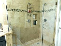 walk in shower with seat s no door floor plan