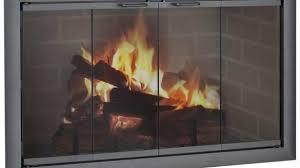 fireplace glass doors open or closed inspirational small fireplace rh al offok com