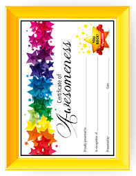 Certificate Of Awesomeness Template Certificate Of Awesomeness Template Barca Fontanacountryinn Com