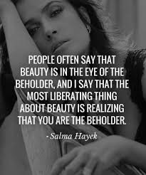 Who Quoted Beauty Is In The Eye Of The Beholder Best of Celebrity Quotes QUOTATION Image Quotes About Celebrity