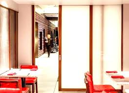 pocket doors interior peachy frosted glass