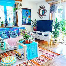bohemian style home decor ideas boho