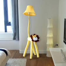 lighting for baby room. Baby Room Floor Lamps Stand Bedroom Decoration Lighting Cloth Cartoon Animal Lion Kids . For L
