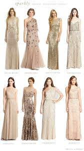 Light Blue Sparkly Bridesmaid Dresses Mismatched Neutral Bridesmaid Dresses Metallic Bridesmaid