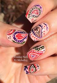 25+ trending Paisley nail art ideas on Pinterest   Spring nails ...