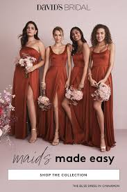 David S Bridal Design Your Wedding Party Coordinating Your Wedding Party Is A Snap At Davids Bridal