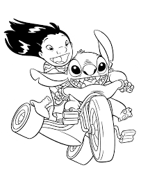 Lilo And Stitch Coloring Book Pages Attractive 2446655 Pertaining To