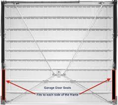 garage door side sealGarage Door Rubber Side Seals 2 x 36inch  Garage Door Spares
