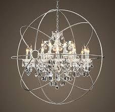 crystal orb chandelier unique crystal orb chandelier orb crystal chandelier polished nickel large crystal orb chandelier
