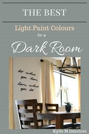 paint colors for basementsThe Best Light Paint Colours for a Dark Room  Basement