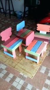 furniture made of recycled materials. Chairs Made Out Of Recycled Materials Kids Furniture From Pallets Making